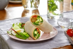 QiZiNi wrap met salade